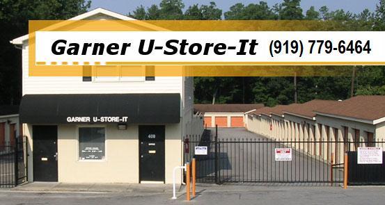 & Storage Garner Self Storage U-Store-It Mini Storage